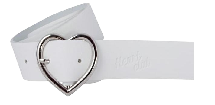 Heart Leather Belt