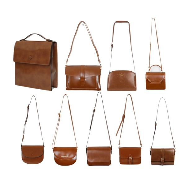 MINIBBONG 알폰스 버클가방,From Beginning Bloom mini tote bag_K(size : one),From Beginning Campus box satchel bag_M (size : one)등을 매치한 코디