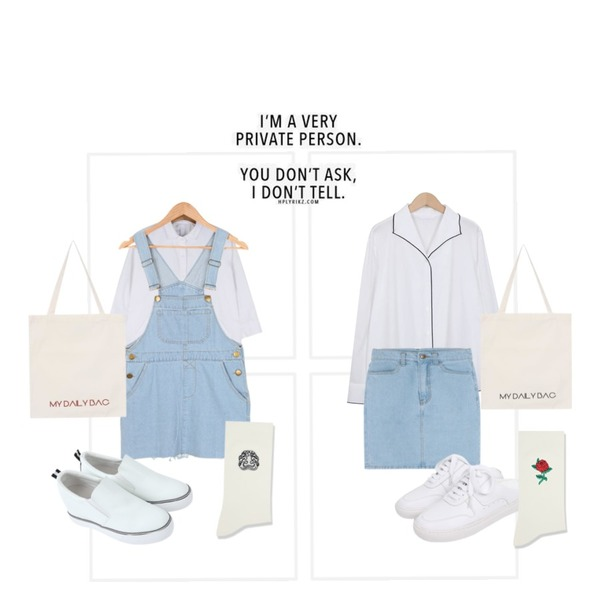 frame,From Beginning Bound piping collar blouse_H (size : free),daily monday Mini pocket cotton shirt등을 매치한 코디