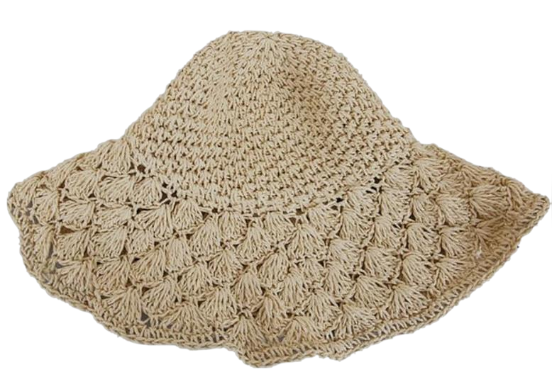 Natural straw hat (ver.바캉스)