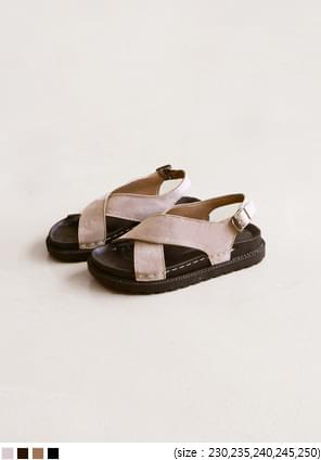 X-COVER SUADE SANDAL