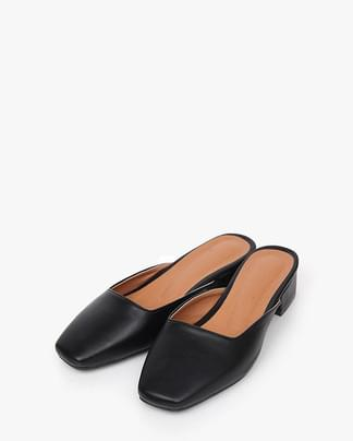 french mule slipper (3 colors)