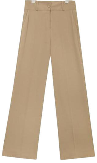 mild touch highwaist long slacks (3 colors)