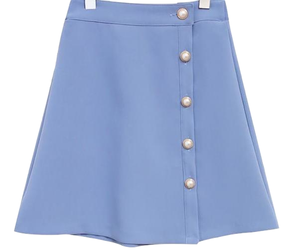 PEARL A LINE SPAN SKIRT