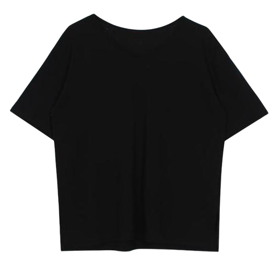 Washing round tee (4color)