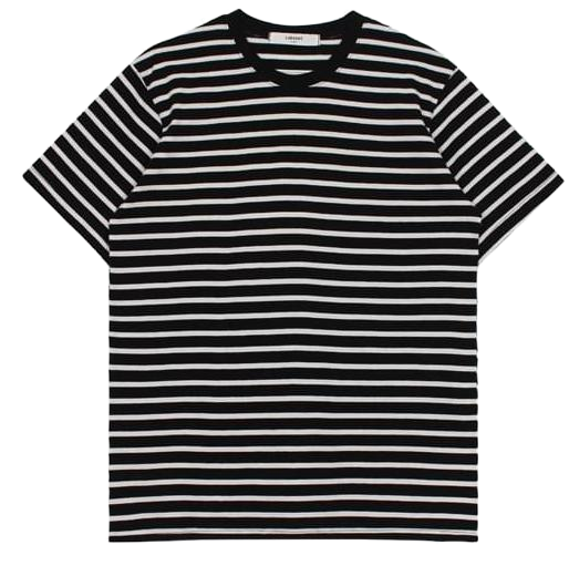 Stripe cotton tee (2color)