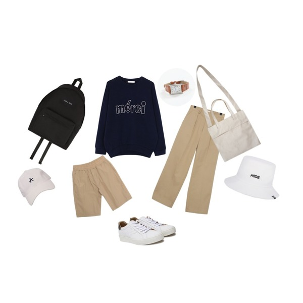DORA B.W.W 5부P,biznshoe Meric mtm (2color),From Beginning Awesome easy wide cotton pants_H (size : S,M)등을 매치한 코디