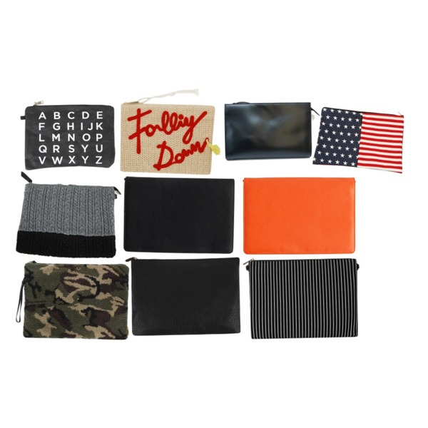 NEW NEED NOW 클래식 사각 클러치,From Beginning Letter straw clutch_P (size : one),BULLANG GIRL 알파페이퍼 클러치등을 매치한 코디