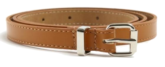 thin point buckle belt