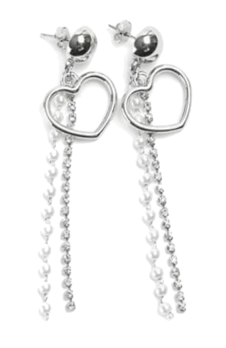 heart string earring