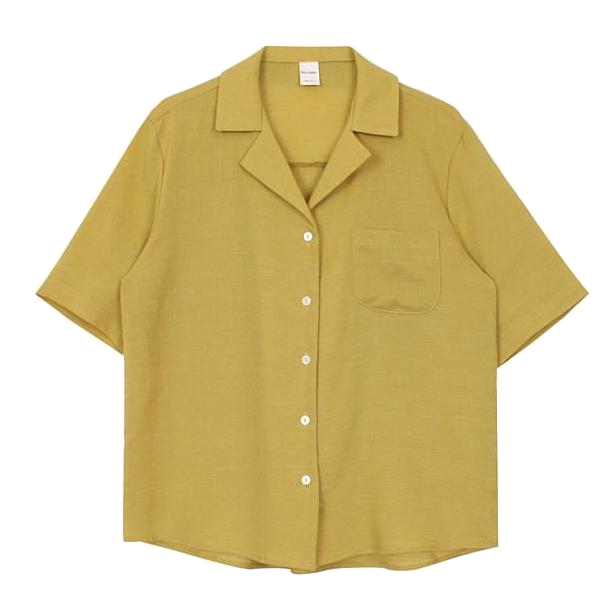 Half collar shirt (6color)
