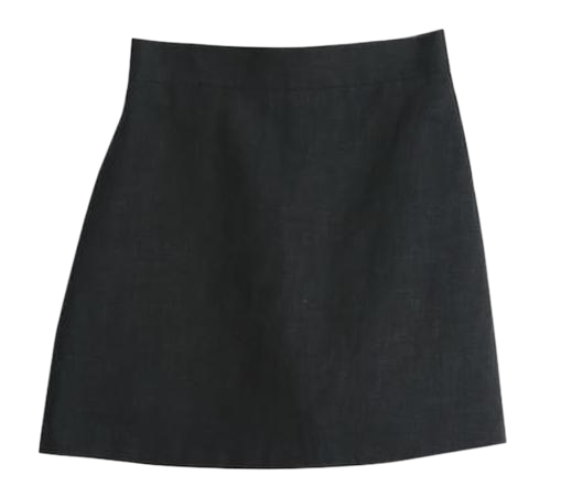 linen banding skirts (2 color)