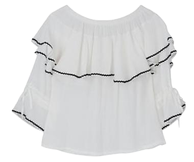 Frill Point Blouse