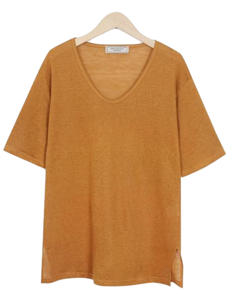Made_top-170_summer linen T (size : free)