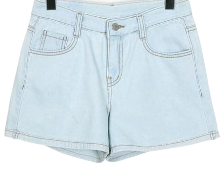 Turn-up denim shorts_S (size : S,M,L)
