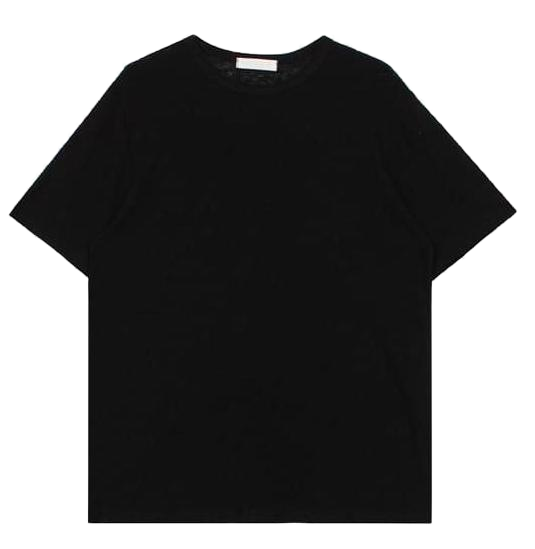 Linen round tee (6color)