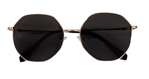 Gold frame sunglass (2color)