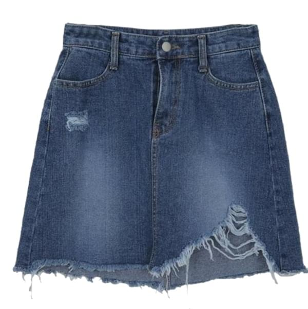 Amann-denim skirt