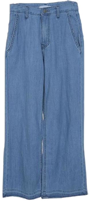 Smith-maxi denim pants