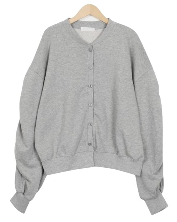 Over sleeve button cardigan_M (size : free)