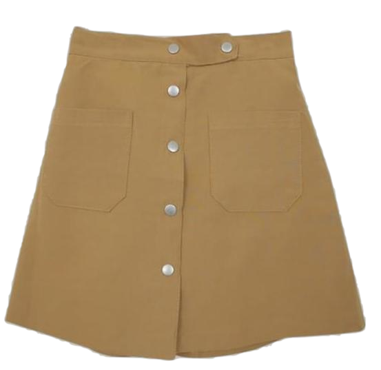 Brownie-A line skirt