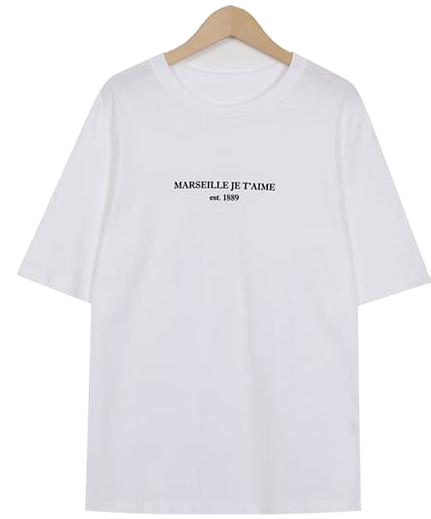 Marseille wash cotton T_K (size : free)
