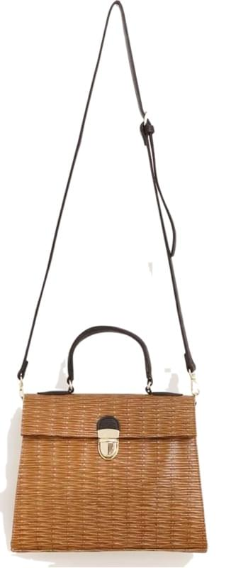 CLASSIC STRAW TOTE BAG