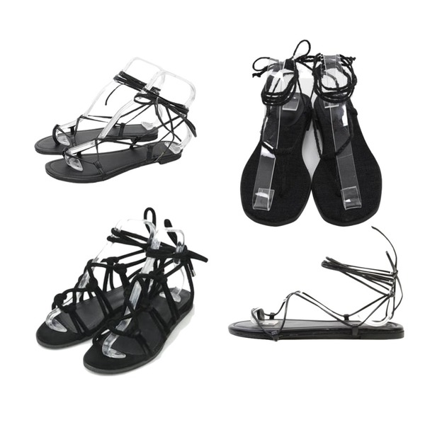 AIN thick strap natural sandal (2 colors),From Beginning Organic string sandal_H (size : 230,235,240,245,250),Monobabie [RS4019] 넬리1cm등을 매치한 코디