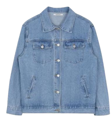 Basic denim jacket # Last stock discount