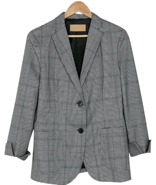 bono check pattern jacket