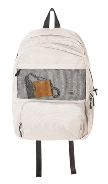 mesh two pocket backpack