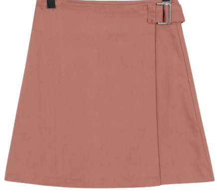 Belt wrap mini skirt_H (size : free)