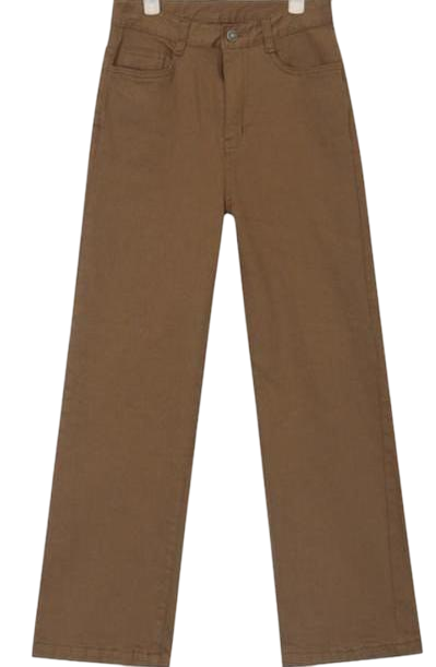 endy wide cotton pants (s, m, l)