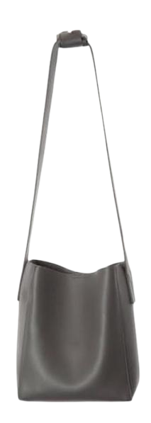 bold strap leather bag