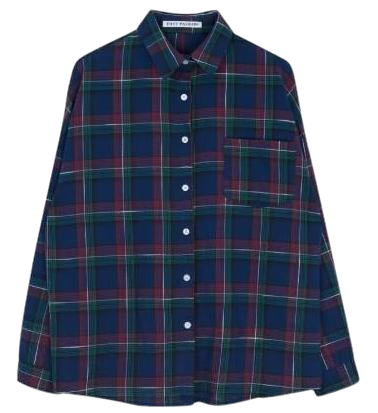 Sally check shirt