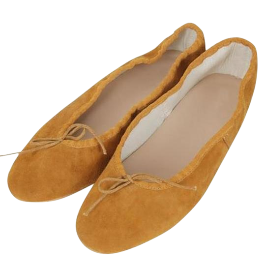 Favorite-leather flat shoes