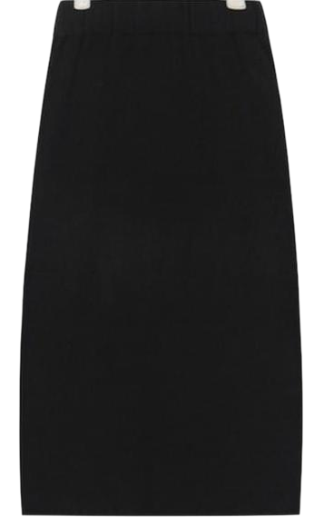 gummy daily slit knit skirt