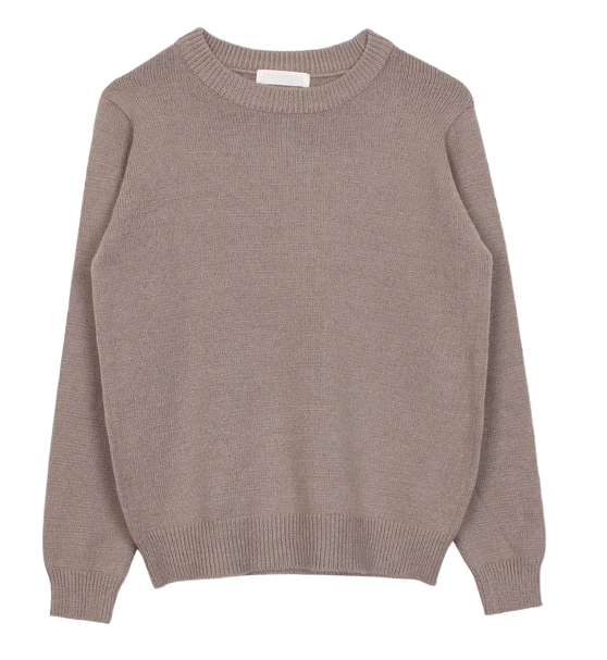 Autumn round knit (5color)