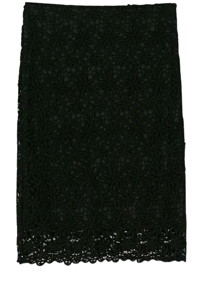 begonia lace skirt