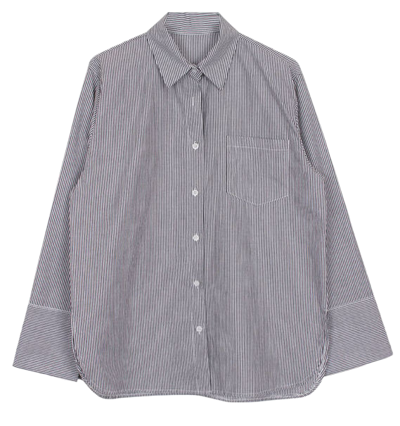 Thin stripe shirts (2color)