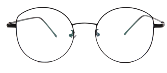 Rounding metal glasses_H (size : one)