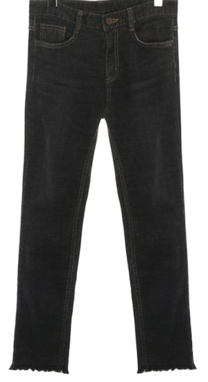 washing blackdenim pants