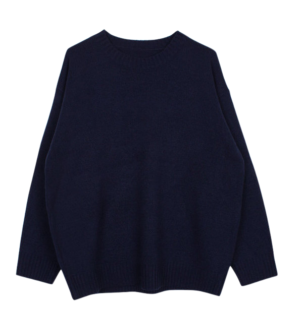 Color boxy knit (7color)