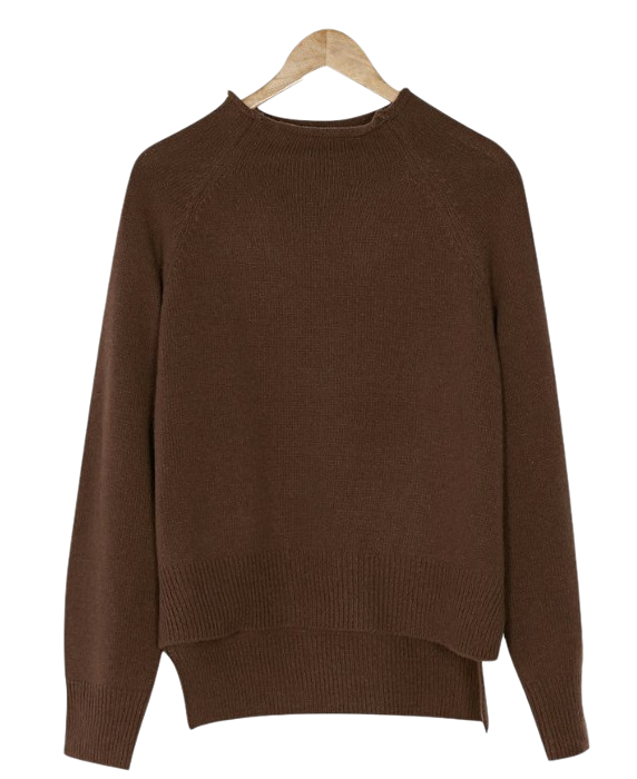 normal half neck knit