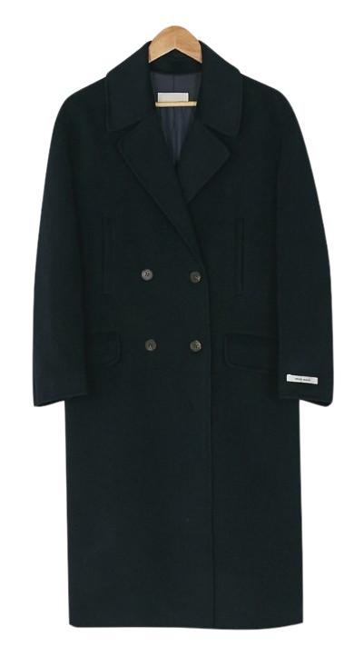 daily double button coat