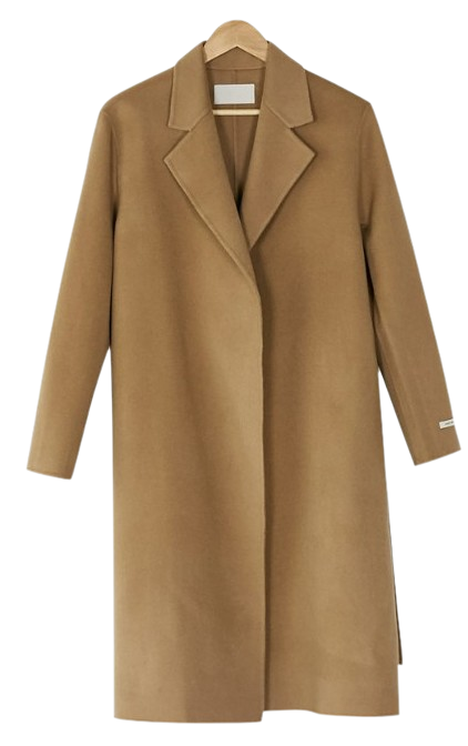basic soft wool coat