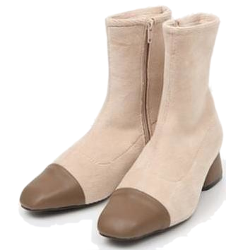 corduroy ankle boots (225-250)