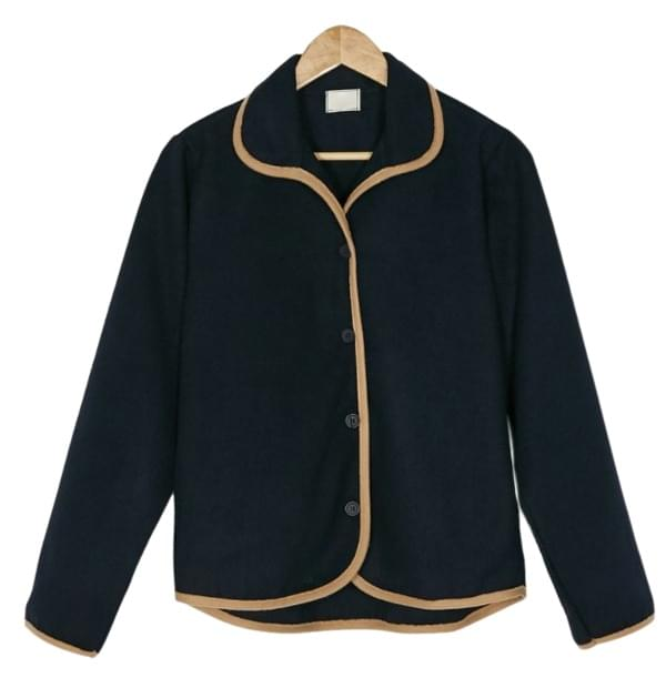bias collar jacket