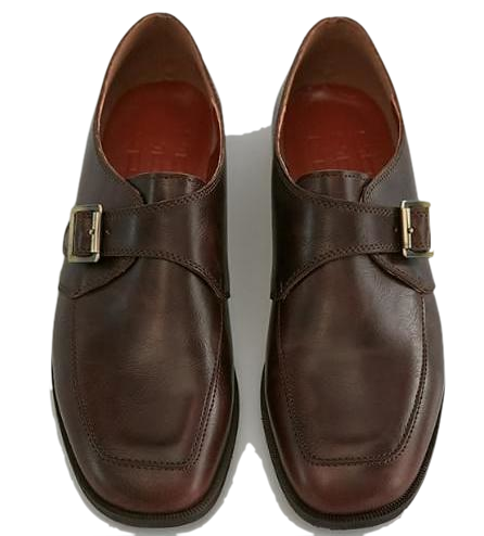 vintage buckle loafer