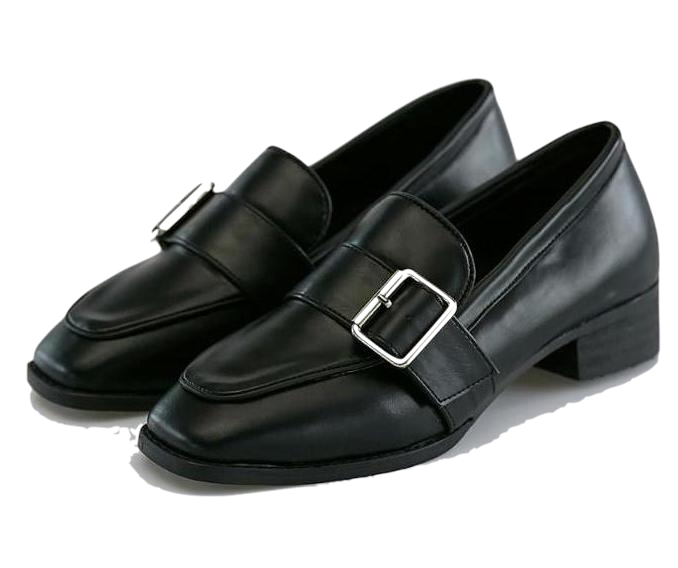 classy buckle loafer
